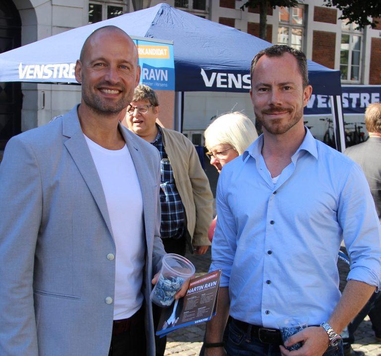Martin Ravn og Jakob Ellemann-Jensen