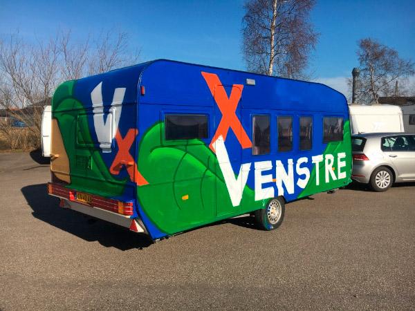 Venstre Horsens campingvogn